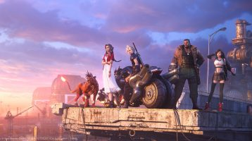 Final Fantasy VII Remake Key Visual Highlights Main Characters