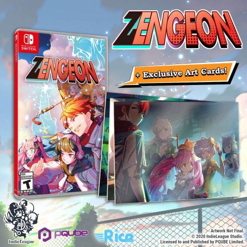 Zengeon Releasing on Switch on September 25