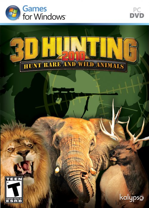 3D Hunting 2010 . . out Now!