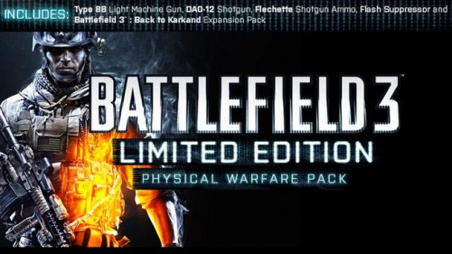 Battlefield 3 Exclusive EB Games Pre-Order Bonus