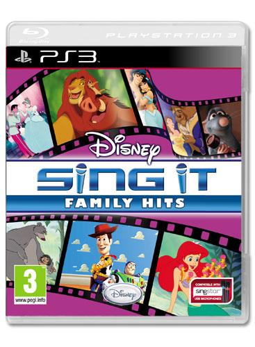 Disney Sing It: Family Hits | PS3, Reviews, Simulation ...