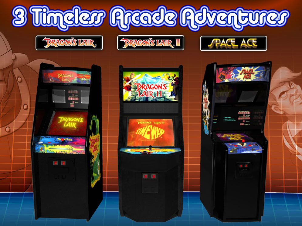 Most overlooked Arcade games: The arcade adventure series Dragons ...