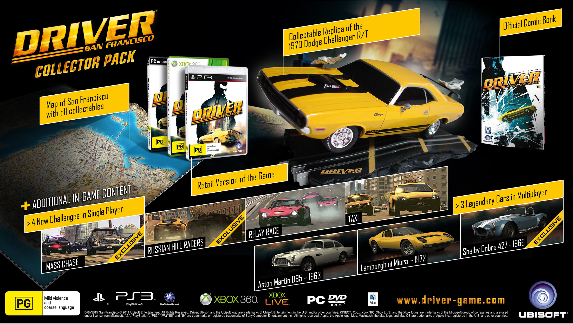 Driver-San-Francisco-Collector-Pack