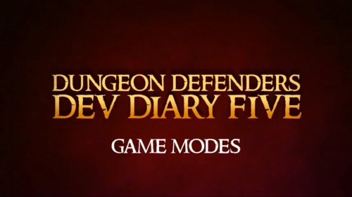 Dungeon Defenders: Developer's Diary #5