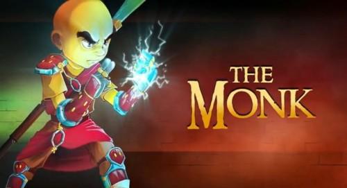 Dungeon Defenders: Monk Class Trailer