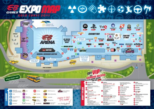 EB Games releases map for EB Expo