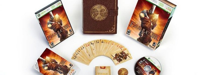 Fable 3 Limited collectors Edition detailed