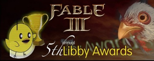 Fable 3 Nominated for a Libby?!