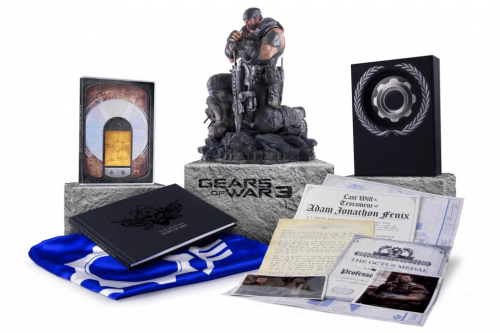 Gears Of War 3 Epic Edition Unboxing