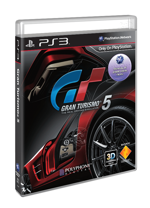 Gran Turismo 5 Regular Edition Box Art