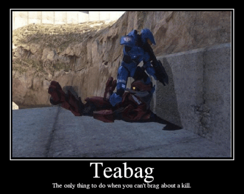 Teabagging Support in Halo:Reach? and Reach Ringtones