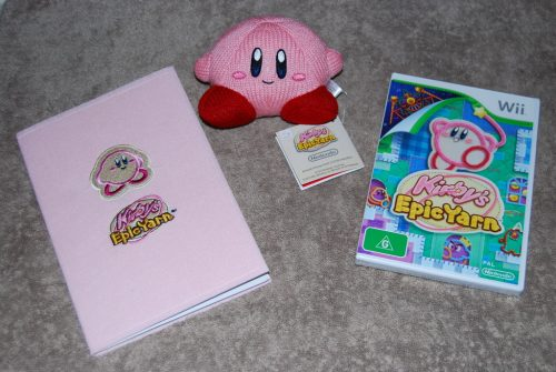 Kirby's Epic Yarn out now on Wii