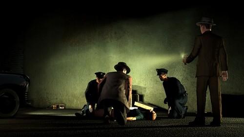 Screenshots from the LA Noir Homicide Desk