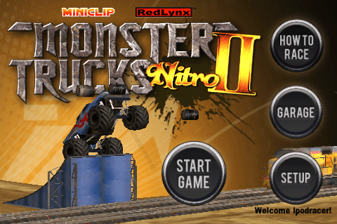 Monster Trucks Nitro Ii Simultaneously Launches Online At Miniclip Com And On Iphone Capsule Computers