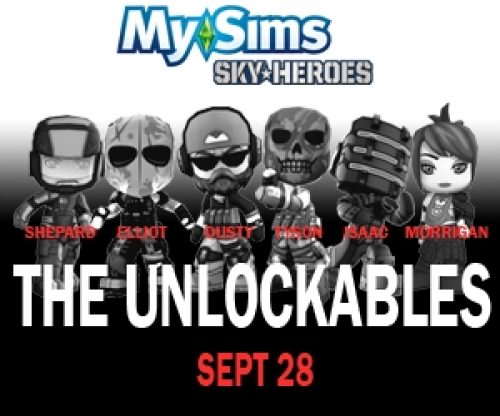 MySims SkyHeroes Released