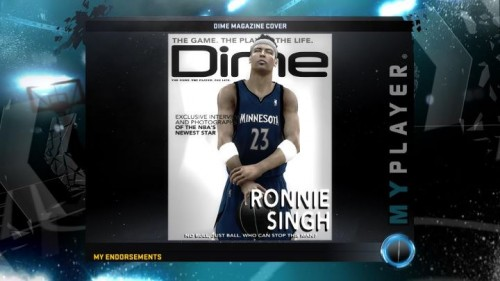 NBA 2K12: My Player Mode Info