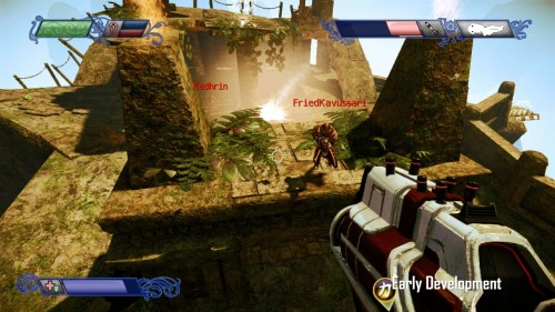 New Screens for Nexuiz, a FPS for the PSN and XBLA