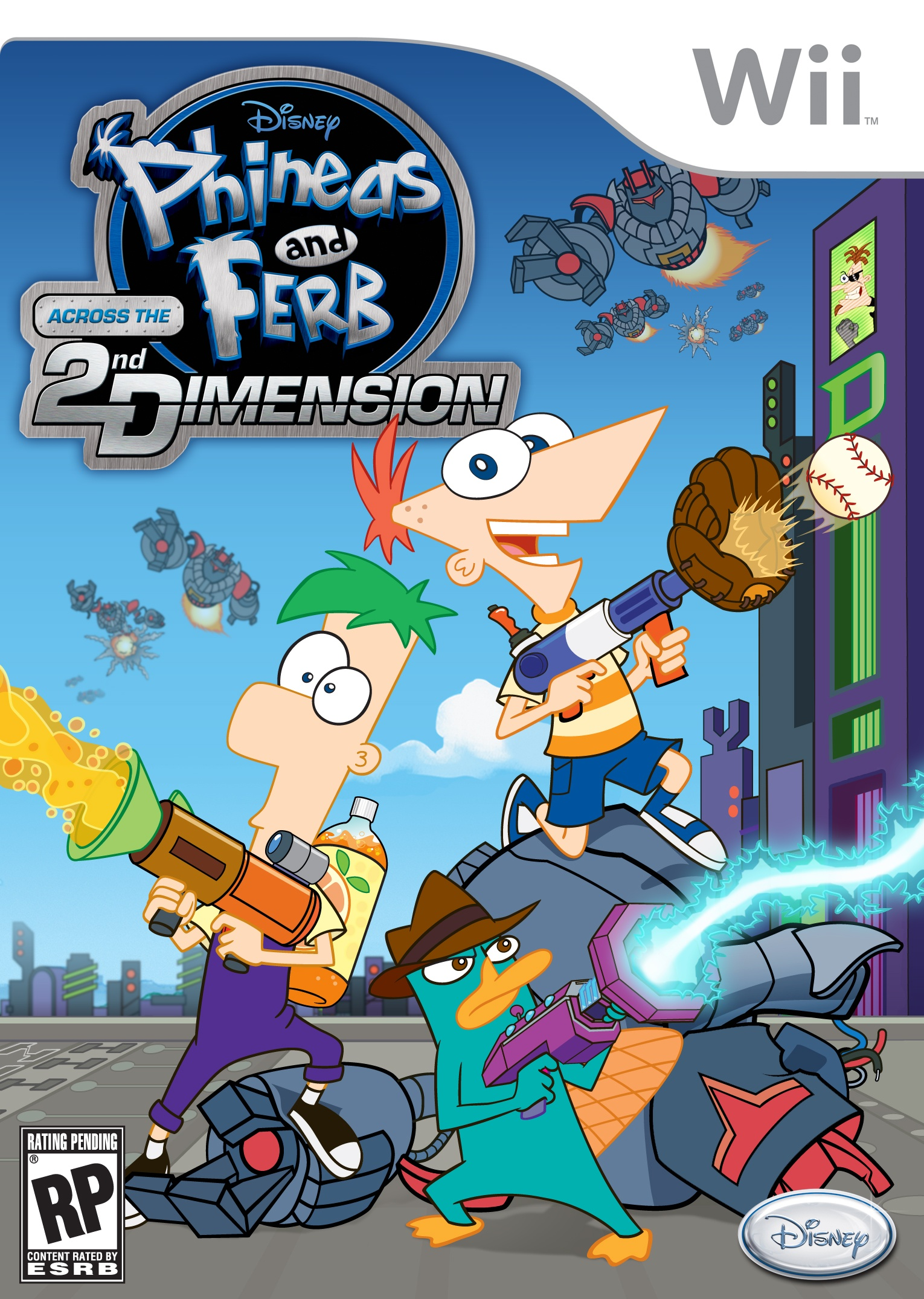 Phineas Amp Ferb Across The 2nd Dimension Review Capsule