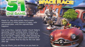 Sega's Planet 51 Crash Landing to a Console Near you !!
