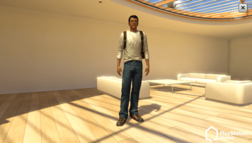 Playstation Home:  Uncharted 2 Nathan Drake Outfit now available