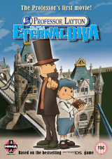 Professor Layton And The Eternal Diva Dvd Review Capsule Computers