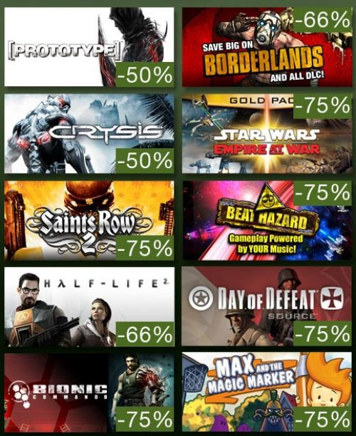 Steam Summer Deals: Today's sales