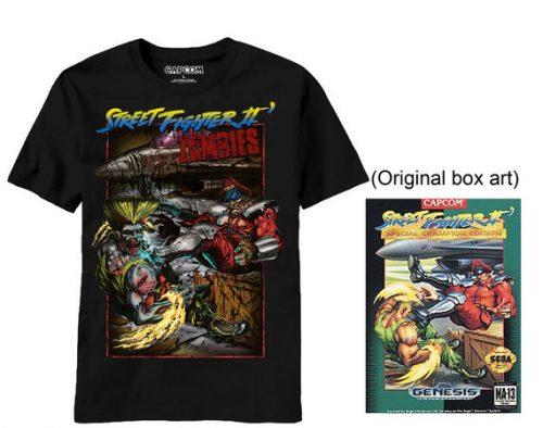 Street Fighter II Zombies T-Shirt !!