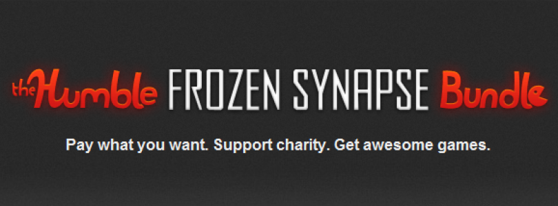 The Humble Bundle is back with the Humble Frozen Synapse Bundle