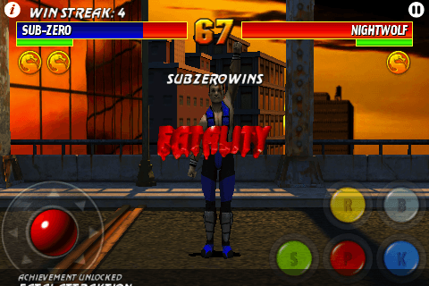 Ultimate Mortal Kombat 3- iPhone Review – Capsule Computers