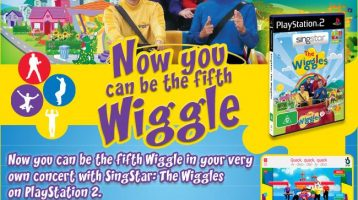 Ever want to be the 5th Wiggle ??