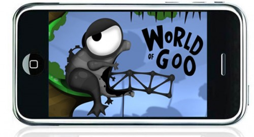 World of Goo coming to iPhone soon