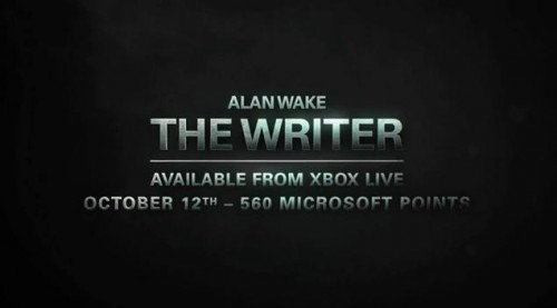 "Alan Wake DLC ""The Writer"" given an October release date"