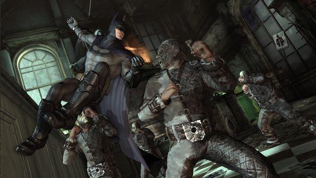 New Gameplay Footage Of Batman Arkham City Capsule Computers