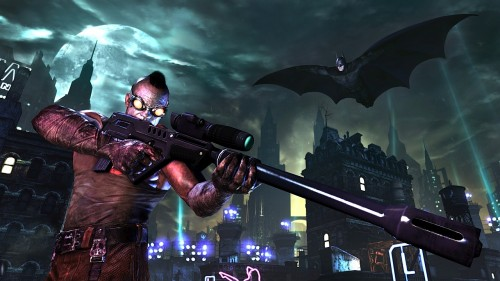 Batman: Arkham City trailer shows off Batman's new moves