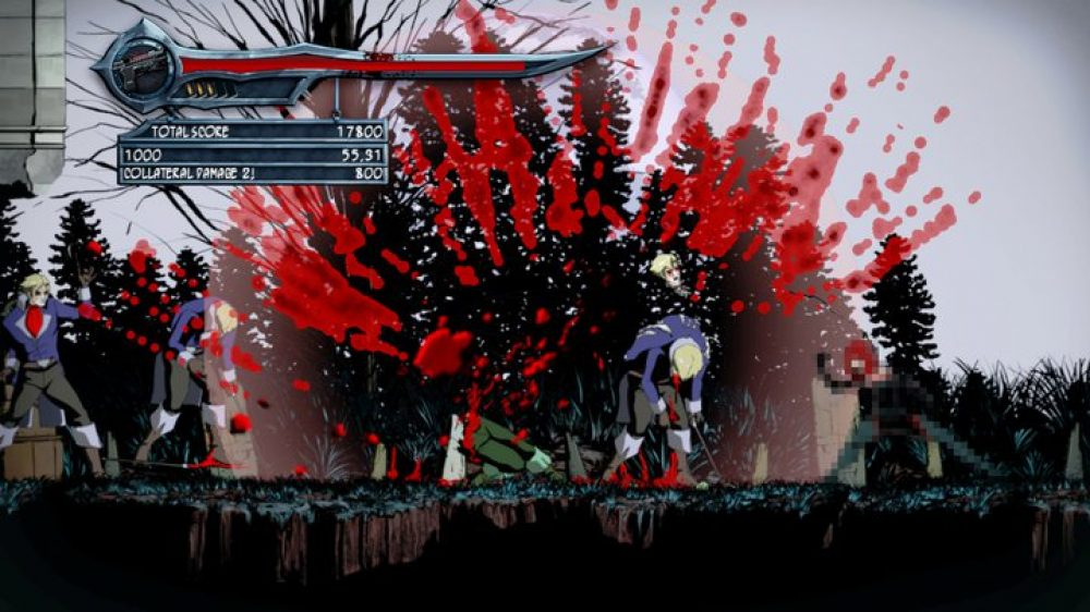 First Bloodrayne Betrayal Screenshot Is Full Of Blood But No