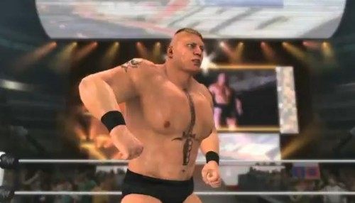 Last Night We Brought You A Report That Brock Lesnar Would In Fact Be Featured Superstar WWE 12 Right On Cue THQ Have Now Confirmed This With New