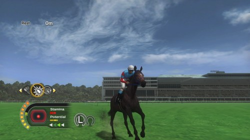 Championship Jockey Screenshots for Character Creation and Gameplay