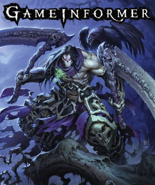 Darksiders 2 announced as July's Game Informer cover
