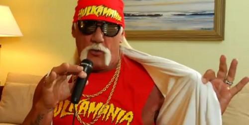 Hulk Hogan Promotes….Def Jam Rapstar?