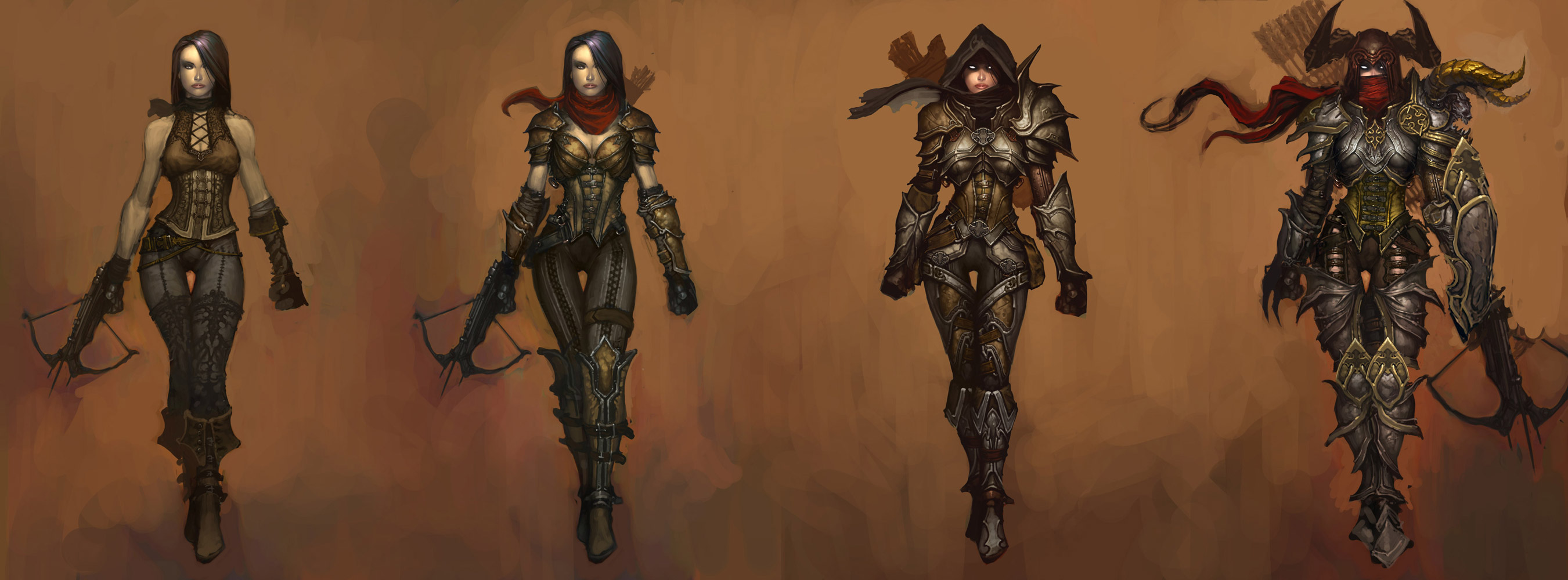 Diablo 3 demon hunter art capsule computers for Demon hunter