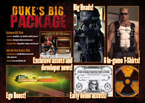 Duke Nukem Forever Bonus Items come to Australia and New Zealand