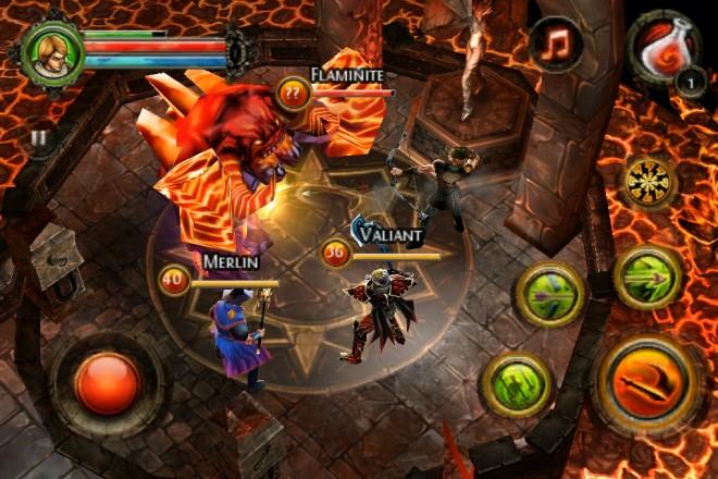 Скачать взломанную версию dungeon hunter4.