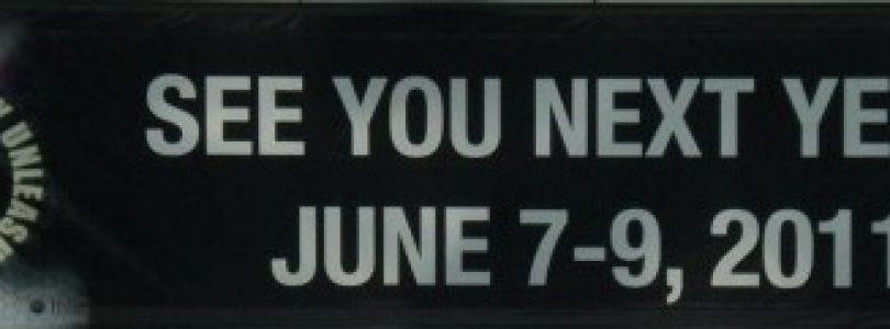 E3 2011 reveals exhibtors already; long list of mystery