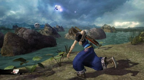 New Final Fantasty XIII-2 Screens show off Moogle Tossing…