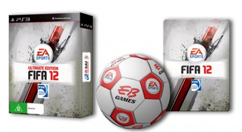 FIFA 12 announces pre-order bonuses!
