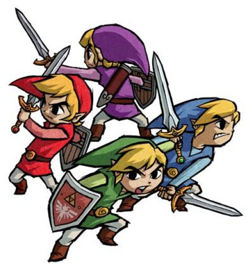 The Legend of Zelda: Four Swords Anniversary Editon Due out September 28th!