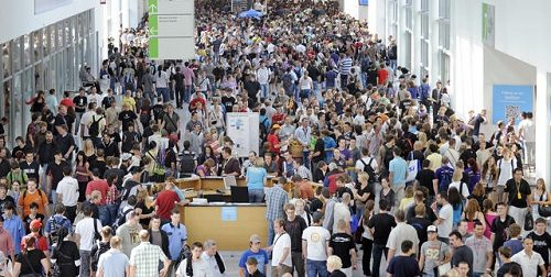 Gamescom 2011 attendance sets new record for event