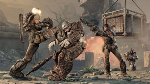 New Gears of War 3 screenshots turn up