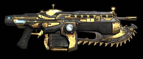 Gears of War 3 golden weapon skins to be given out during Golden Wings Week