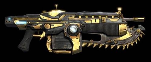 Gears Of War 3 Golden Lancer Capsule Computers